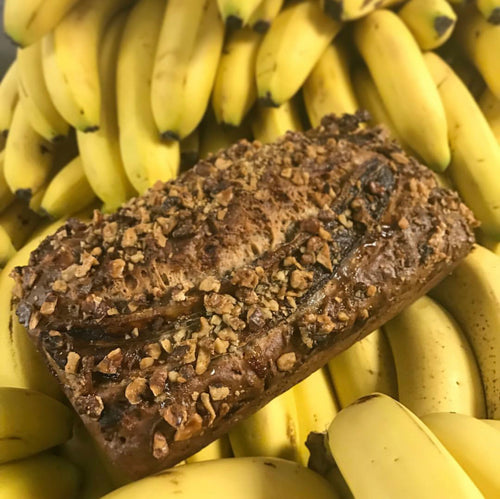 Vegan Walnut Banana Bread Loaf