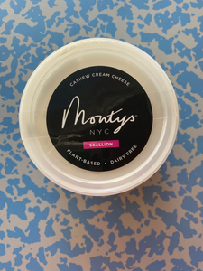 Monty's Cashew Cream Cheese- Scallion