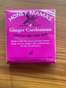 Honey Mamma's Ginger Cardamon Chocolate Bar