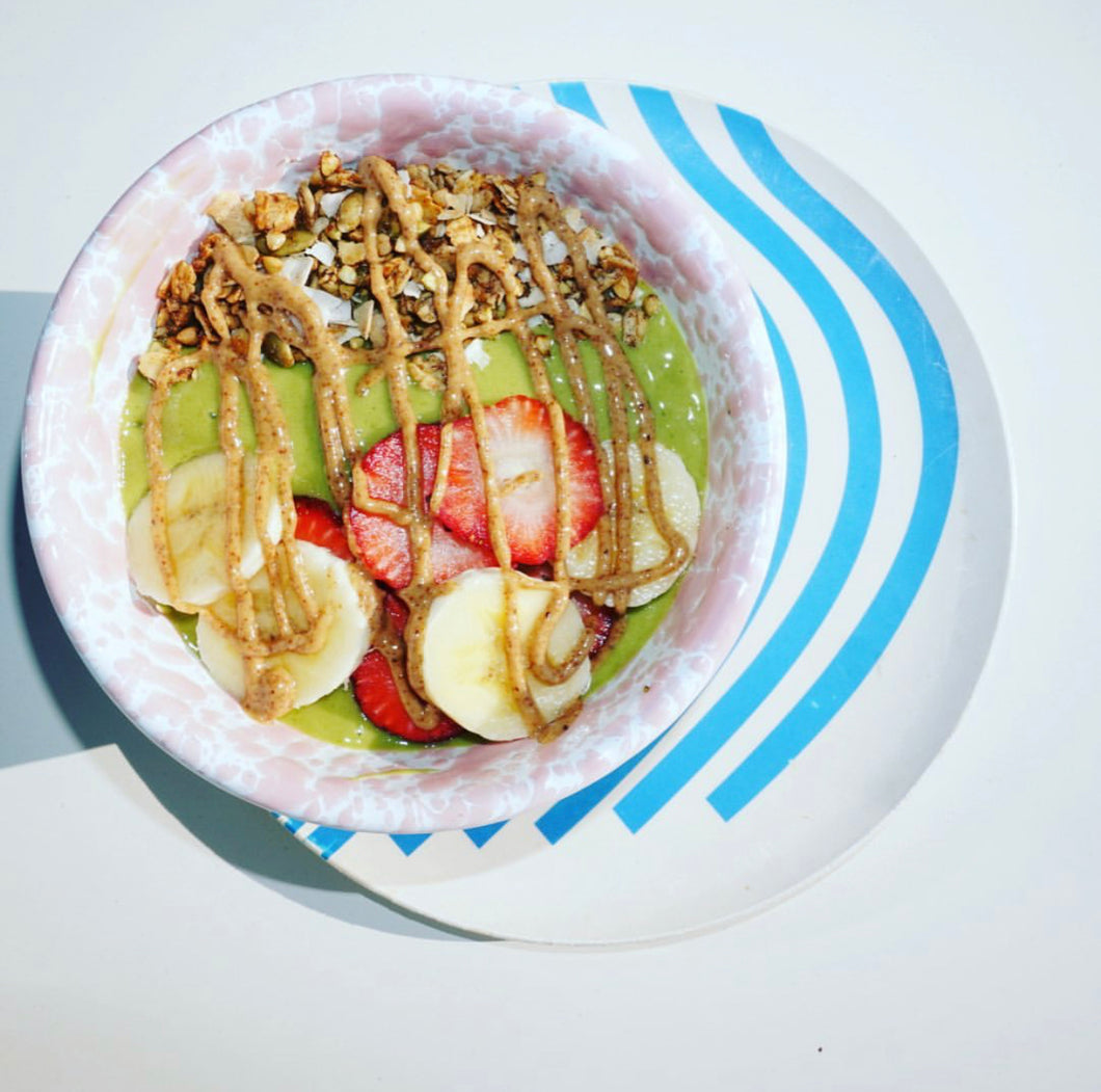 Matcha Energy Smoothie Bowl