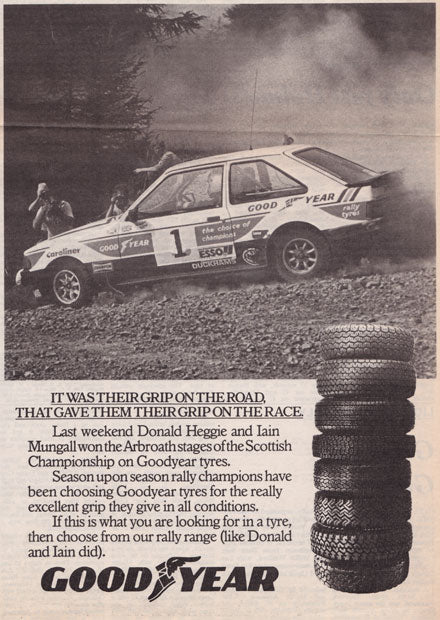 G3 Escort Driven by Donald Heggie and Iain Mungall