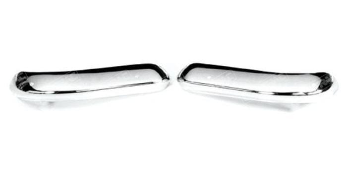 Magnum Escort Mk1 Front Chrome 1/4 Bumpers (Sold as Pair)