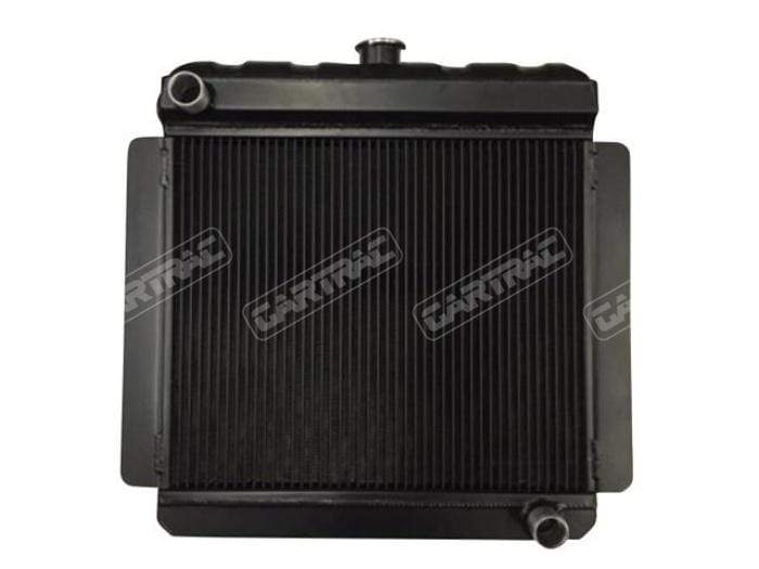OEM Escort Mk1 & Mk2 Classic Top BDA Radiator with Fan, Bracket, Sender & Cap