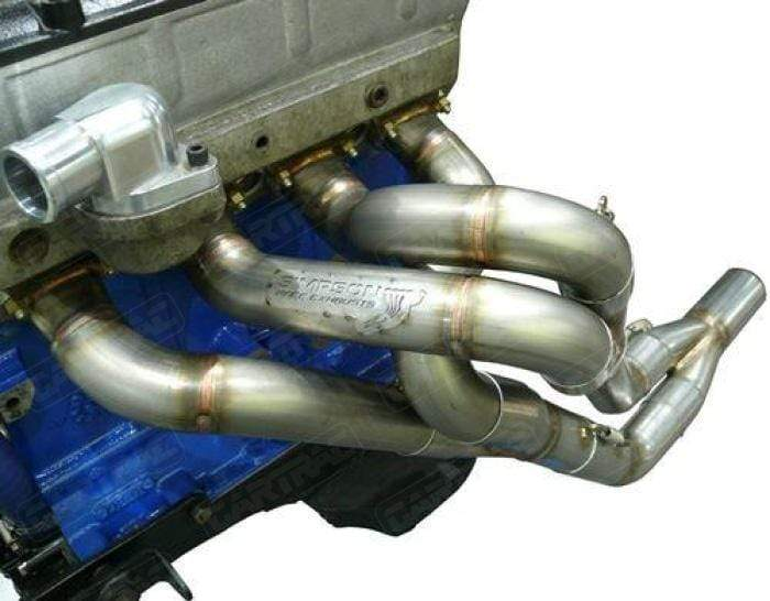 Simpson Race Exhausts Simpson Stainless Steel Exhaust Manifold: Ford Escort Mk1 & Mk2 BDA/BDG 3 Bolt 4-2-1 Historic Spec, Small Bore