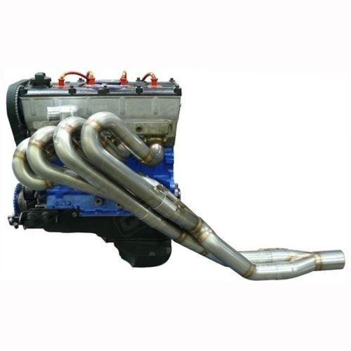 Simpson Race Exhausts Simpson Stainless Steel Exhaust Manifold: Ford Escort Mk1 & Mk2 BDA/BDG 3 Bolt 4-2-1 Long Primaries