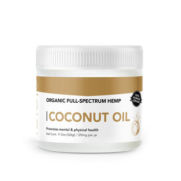 Hemp Infused Coconut Oil Wellness Free Shipping