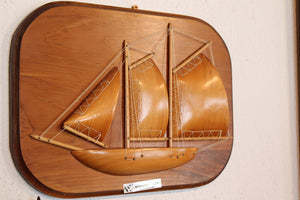 Wooden Ship Relief