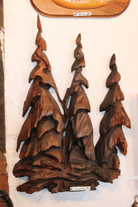 Wooden Tree Carving