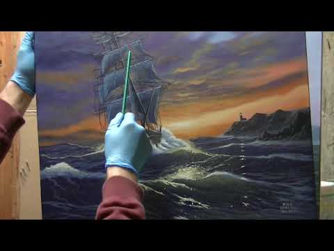 Mark Harvill, Ocean and Ships (Original)
