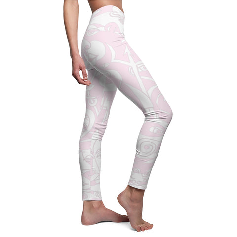 RRoot Women's Casual Leggings - The Infinity (Pink)