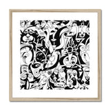 The Infinity  - Abstract Art - Framed & Mounted Print