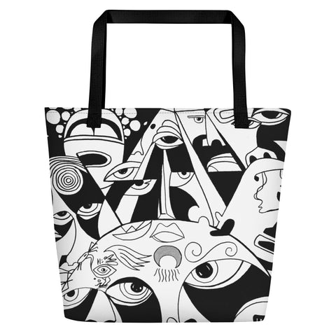 Beach Bag - The Sun Design - Ancient Art