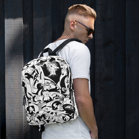 Backpack - Black and White - Design: The Present