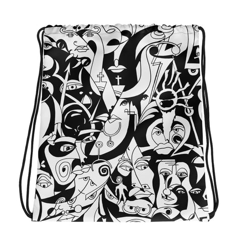 Drawstring Bag - The Infinity Design