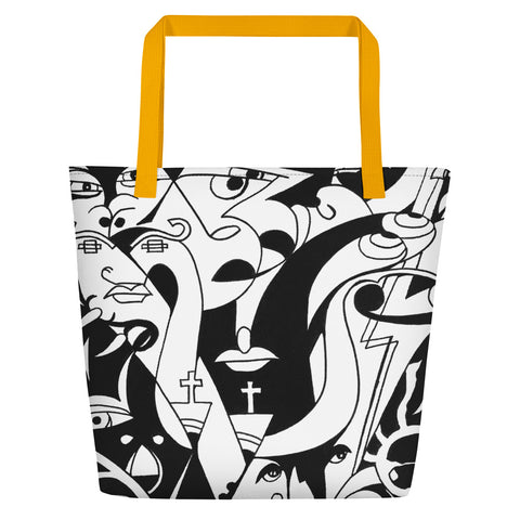 Beach Bag - The Infinity Design - Ancient Art