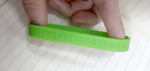 #STRONGERTOGETHER Wristband - COVID-19 Donation