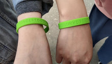 Load image into Gallery viewer, #STRONGERTOGETHER Wristband - COVID-19 Donation