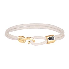 Load image into Gallery viewer, Promise Bracelet - Gold Plated Sterling Silver Set With 1ct. Uncut Diamond