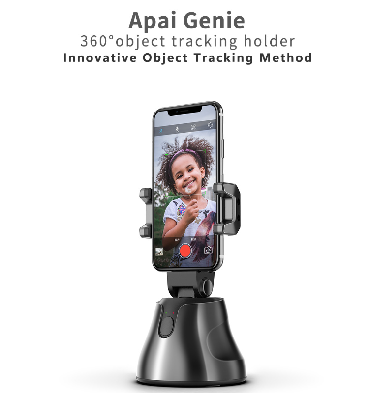 Apai Genie Auto Smart Shooting Selfie Stick 360° Rotation Object Tracking Holder