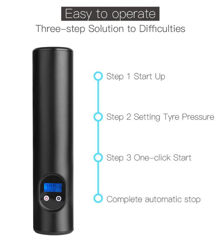 Portable Wireless Mini Electric Air Pump