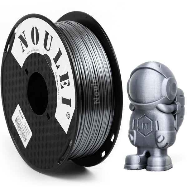 Noulei 3D Printing Filament Silk PLA 1.75mm Spool Shiny for CREALTY ANYCUBICY  All FDM 3D Printer