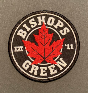 Red Leaf Patch [Embroidered]