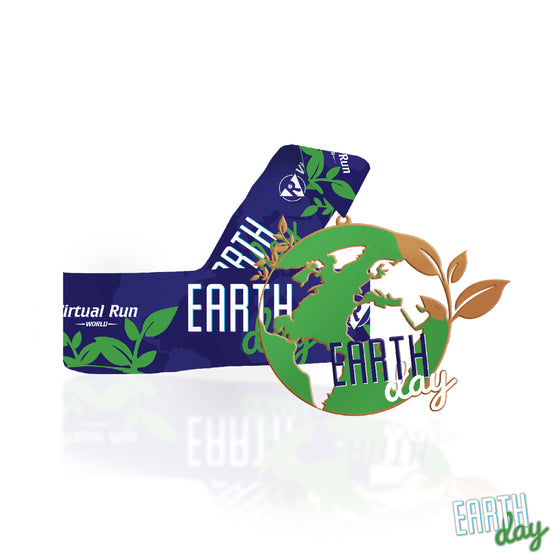 Earth Day 5k - Entry + Medal