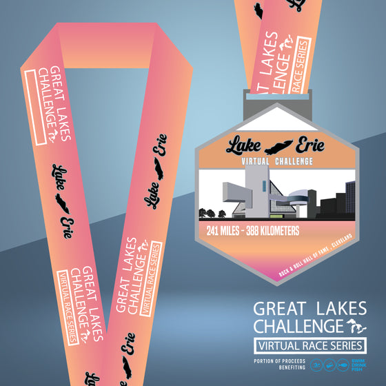 The Great Lakes Challenge: Lake Erie Entry + Medal