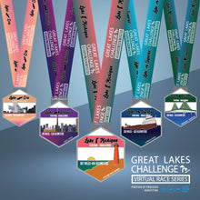 The Great Lakes Challenge: ALL 5 LAKES entry + 5 medals