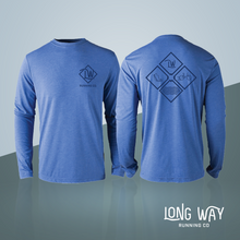 Long Way Running Co. TRI Long-Sleeve Tee