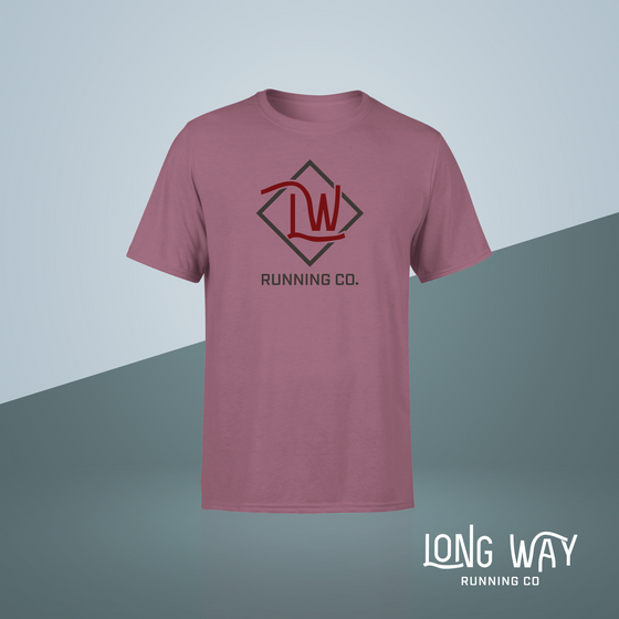 Long Way Running Co. Logo Short Sleeve Tee