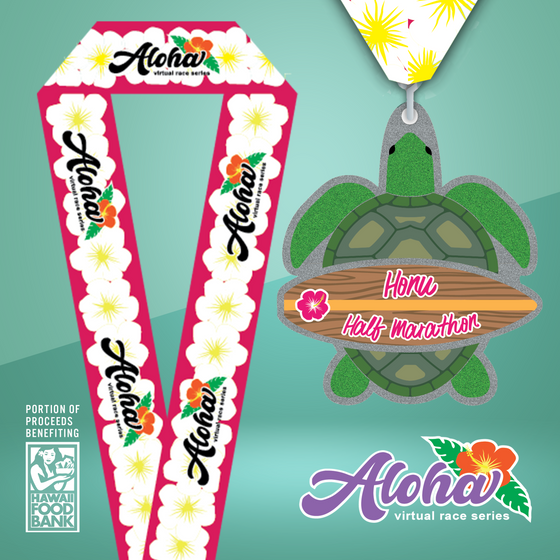 Aloha Series: Honu Half - Medal + Entry Only