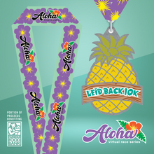 Aloha Series: Leid Back 10k - Entry + Medal