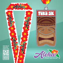 Aloha Series: Tiki 5k - Entry + Medal