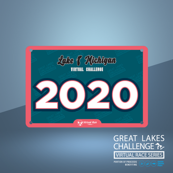 The Great Lakes Challenge: ALL 5 LAKES entry + 5 Digital Bibs
