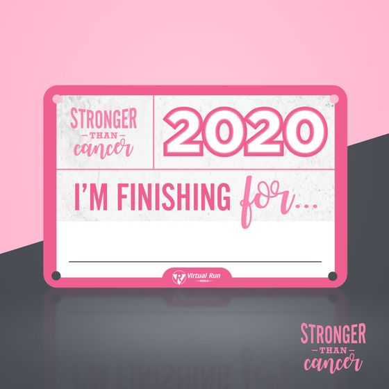 Stronger Than Cancer 5K - Entry + Shirt