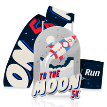 To The Moon 5k - Entry + Medal