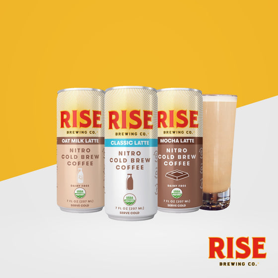 RISE Nitro Cold Brew Coffee