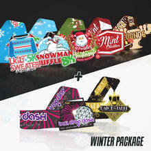 Merry Miles WINTER Package - 7 races medals