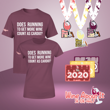 Wine About It Series: 3 Event Package - 3 medals + 3 entries + 1 shirt