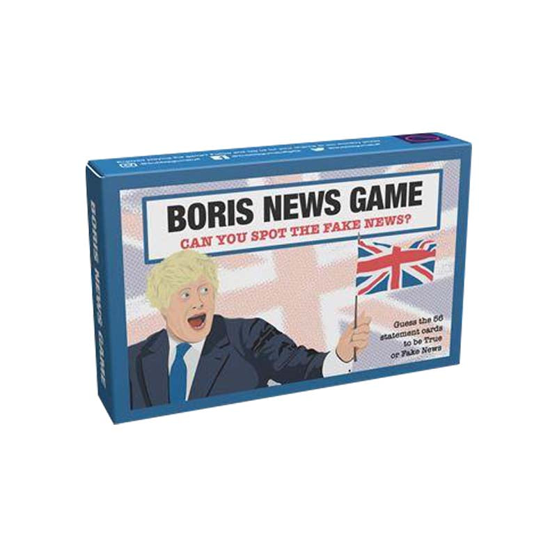 Fake News Game Boris Edition