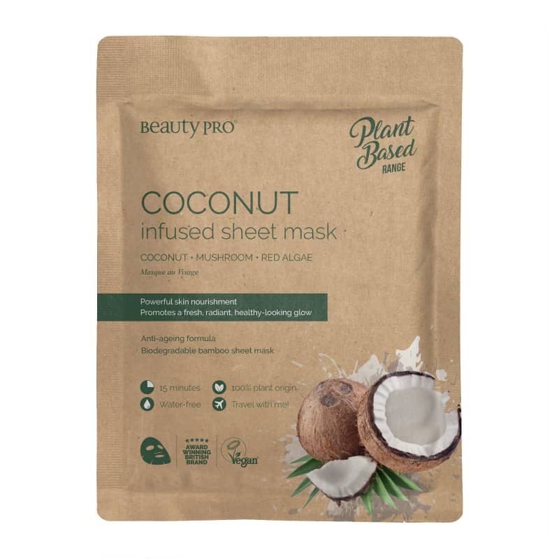 Coconut Oil Sheet Mask