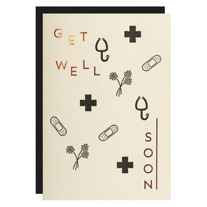 Get Well Soon Recycled Card
