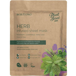 Plant Based Sheet Mask