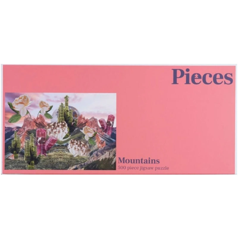 Mountains 500 Piece Jigsaw Puzzle