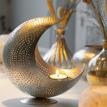 Load image into Gallery viewer, Moon Tealight Holder
