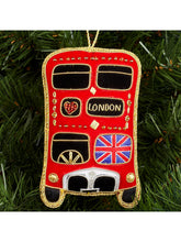 Load image into Gallery viewer, Union Jack London Bus Hanging Decoration