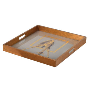 Square Giraffe Tray