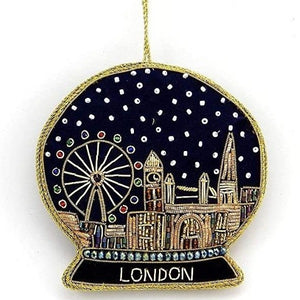London Snow Globe Decoration