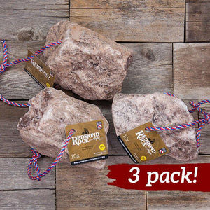 Large Redmond Rock on a Rope (7-10 lbs) - 3 pack